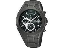 Pulsar PF3961 Men's Dress Chronograph WR 50m Sports Black Dial Alarm Watch