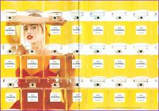 ▬► PUBLICITE ADVERTISING AD Parfum Perfume CHANEL N°5 2 pages
