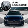 VW Arteon Front Emblem Schwarz Black Vorne Zeichen Logo R-Line 4Motion ACC TSI