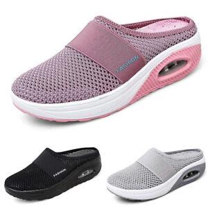 Women's Walking Shoes Mesh Slippers Garden Summer Sandals Sports Sneakers Size