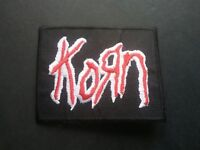 Korn Sew or Iron On Patch