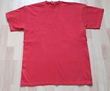 T-Shirt rot unifarben Gr. L