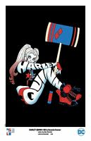 HARLEY QUINN print signed by AMANDA CONNER & JIMMY PALMIOTTI limited to 200!
