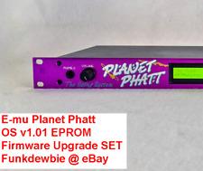 E-mu Planet Phatt OS v1.01 EPROM Firmware Upgrade SET / New ROM Update Chips