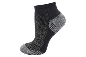 Asics Running Sock Ultra Light Quarter 2 Pairs Black Crew Socks 3013A280-001