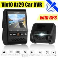 Viofo A129 Duo 1080P Car Dash DVR Video Front Rear Camera GPS WiFi 140° Dual **