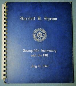 Collection of 25th Anniversary w/ FBI letters - J. Edgar Hoover Signature