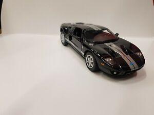 2006 Ford GT black kinsmart toy car model 1/36 scale diecast metal open doors