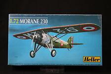 YQ011 HELLER 1/72 maquette avion 80217 Morane 230 1938 annee 1986