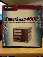 PROMISE SuperSwap 4600 4-Day Internal Hot-Swappable SAS/SATA Drive Enclosure