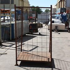 Stillage Adelaide 1750mm x 1100mm x 1100mm 3 wall fire wood stackable