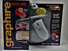 Wacom Graphire Batteryless Cordless Mouse Pen & Tablet Set Sealed 2000