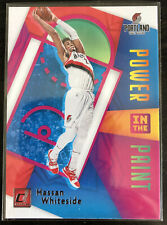 New listing 2020-21 Donruss - HASSAN WHITESIDE - Power In The Paint #10 - Trail Blazers
