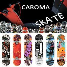 CAROMA Skateboard ABEC 7 Lager mit LED Rädern Das beste Geschenk für Kinder DHL#