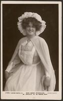 """Actress. Miss Marie Studholme """"Paulette"""" in My Mimosa Maid. c1906 Photo Postcard"""