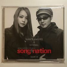 Amuro Namie & VERBAL - Lovin' It [AVCD-30331] song+nation Japan Import MAXI