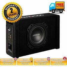 """Kenwood PA-W801B 400W 8"""" Oversized Powered Active Subwoofer Built-in Amplifier"""
