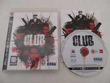 THE CLUB - SONY PLAYSTATION 3 - JEU PS3 COMPLET
