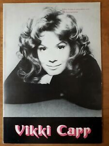 1972 UK Concert Tour Programme, VICKI CARR, DALLAS BOYS, KAMAHL, VGC, Ephemera