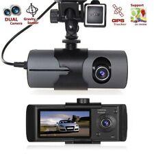HD Car DVR Dash Cam Video Recorder Dual Lens GPS Camera G-Sensor Night Vision US
