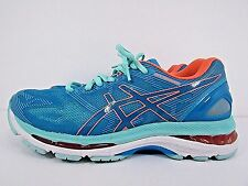WOMEN'S ASICS GEL NIMBUS 19 size 8 ! WORN LESS THAN 10 MILES !!RUNNING!