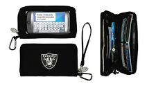 New Touch Smart phone Deluxe Wallet NFL Licensed OAKLAND RAIDERS Black Large