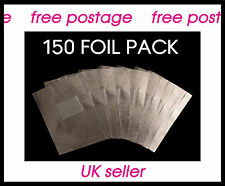 150 High Quality Nail Foil Wraps for Removal of UV/LED Gel Nail Polish