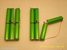 Lot 24 Li-Ion 3.7V 2600mAh Battery 18650 SE US18650GR with Tabs Green Cells