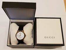 5b6aea11ede Gucci Unisex G-Timeless Gold Plated Silver Diamantissima Dial Watch  YA1264027