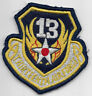 Theatre Made USAF 13th Air Force Squadron Patch