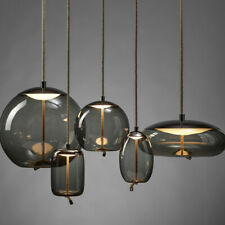 Nordic Restaurant Bar Glass Pendant Light Chandelier Ceiling Lamp Fixture Modern