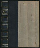 Ernst Weiß: Tiere in Ketten (1922). Erstausgabe, Handeinband in Halbleder