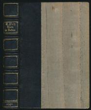Ernst blanc: Animaux en chaînes (1922). première édition, handeinband dans halbleder
