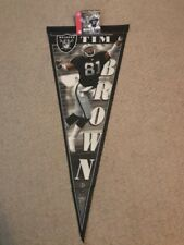 Oakland Raiders Limited Edition Tim Brown NFL Certified Pennant