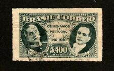 NO RESERVE AUCTION!!  Brazil stamp #508, used, 1940-41