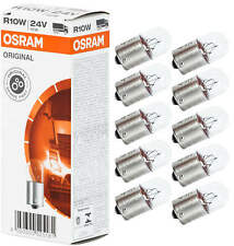 10X R10w Ba15s Osram Lampe Boule Ampoule Lampe Ampoule Poires 10W 24V Camion Bus