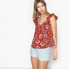 Waist Red Vest Top Tops & Shirts for Women