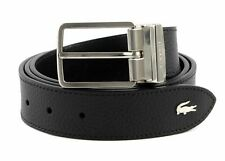 LACOSTE Elegance Curved Stitched Edges W90 Black