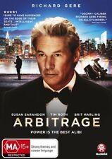 Arbitrage (DVD, 2013) - Region 4
