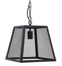 Laurel Foundry Romane Metal Glass Ceiling 1-Light Foyer Pendant, Black