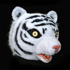 Cosplay Party Dress Tiger Mascot Custome Fursuit Animal Mask Halloween Lifelike