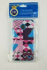 HR Wireless Pink and Blue Hybrid Phone Case for Nokia Lumina 635