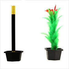 Comedy Magic Wand To Flower Magic Trick Kid Show Prop Toys Kid Gift X2Z