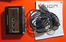 Ion Tape to Mp3 Converter Player+Usb cable + Cd software + Guide no Headphones