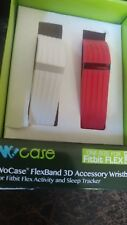 New Fitbit flex as shown one red one white