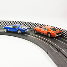 NEW AFX Slot Car Guard Rail Set - Checker Board FITS: HO & 1:43 Tracks