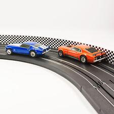 NEW AFX Slot Car Guard Rail Set - Checker Board FITS: HO & 1:43 Tracks