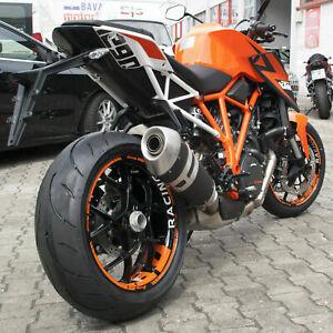 Felgenrandaufkleber p. f. Supermoto KTM SuperDuke SD 1290 R  Felgenaufkleber