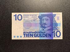 NIEDERLANDE / NETHERLANDS 10 GULDEN 1968 P-91b aUNC