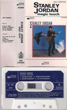 STANLEY JORDAN Magic touch UNIQUE RARE SPANISH  cassette SPAIN JAZZ FUSION